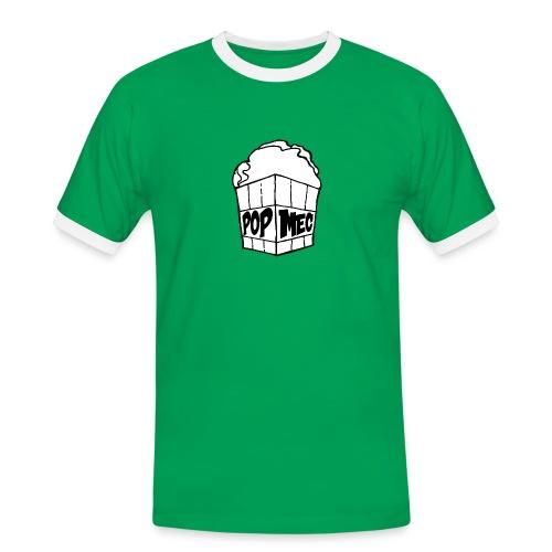 PopMeC logo - Men's Ringer Shirt