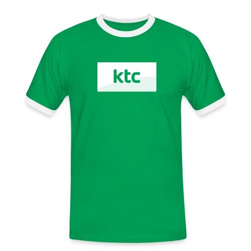 Logo2015 neg png - Herre kontrast-T-shirt