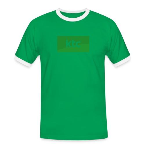 Logo2015 cmyk png - Herre kontrast-T-shirt