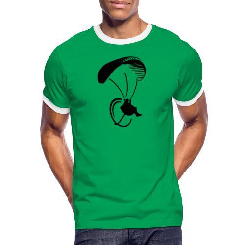 Paragliding_Rucksack_Motor - Männer Kontrast-T-Shirt