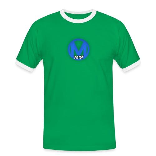 MWVIDEOS KLEDING - Mannen contrastshirt