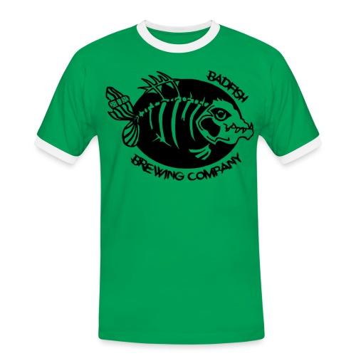 Grand logo devant - T-shirt contrasté Homme