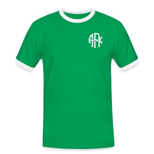 vintage-symbol-1farge - Kontrast-T-skjorte for menn