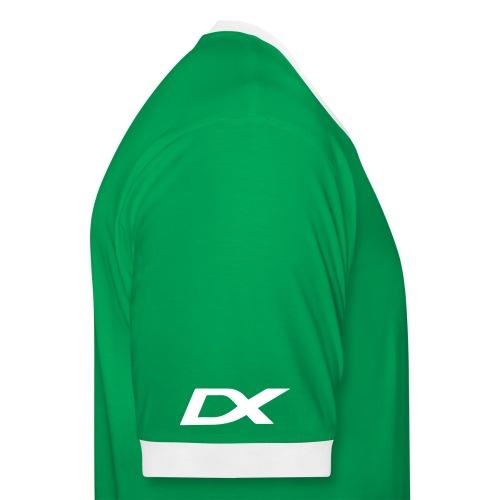 dxlogo - Kontrast-T-skjorte for menn