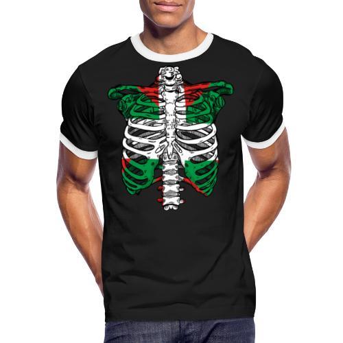 Basqueleton - Camiseta contraste hombre