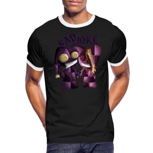 Traumpaar aus dem Irrenhaus - Männer Kontrast-T-Shirt