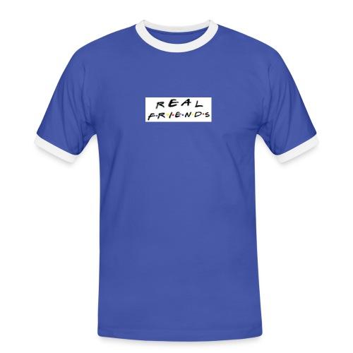 Real freinds - Herre kontrast-T-shirt