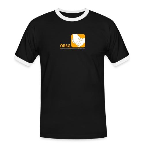 Logo der ÖRSG - Rett Syndrom Österreich - Männer Kontrast-T-Shirt
