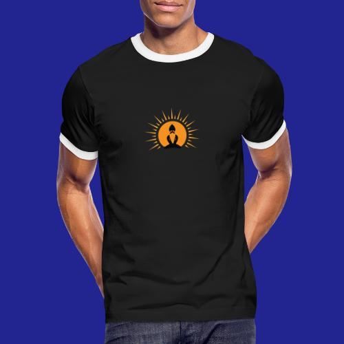 Guramylyfe logo no text black - Men's Ringer Shirt