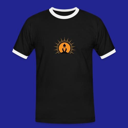 Guramylife logo black - Men's Ringer Shirt