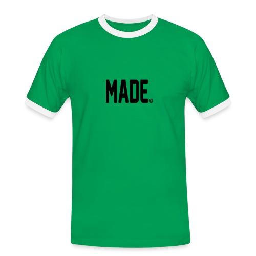 madesc - Kontrast-T-shirt herr