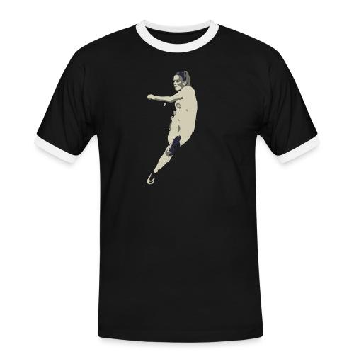 JAIMY VISSER - Mannen contrastshirt