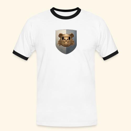 marmottes blason HD - T-shirt contrasté Homme