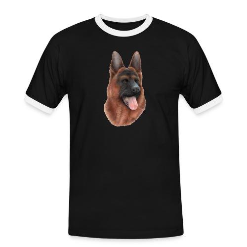 PERRO SIN FONDO - Camiseta contraste hombre
