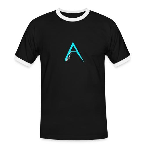 ANGISTEF SQUAD LOGO - Kontrast-T-shirt herr