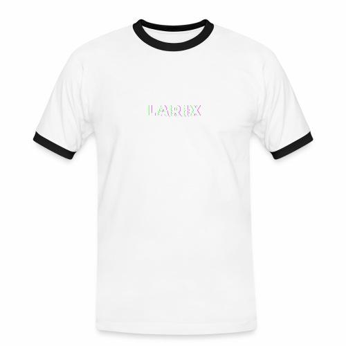 Glitch V1 - Maglietta Contrast da uomo
