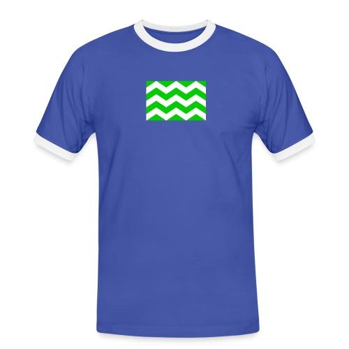 Vlag westland kassen - Mannen contrastshirt