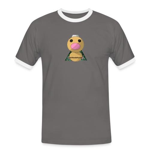 HetWeedleKanaal shirt MAAT S/M/L/XL/XXL - Mannen contrastshirt