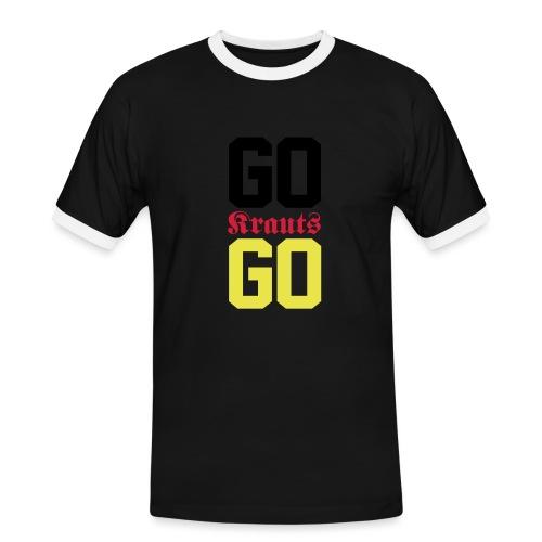 krauts - Männer Kontrast-T-Shirt