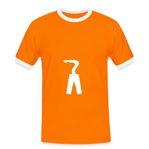 Anaconda - Herre kontrast-T-shirt