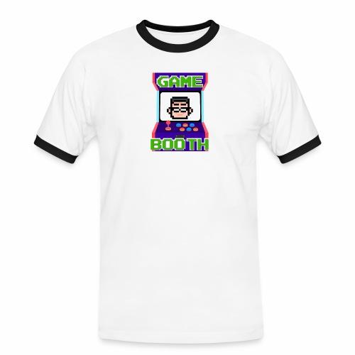 GameBooth Icon Logo - Men's Ringer Shirt
