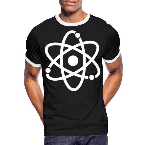 Atommodell - Männer Kontrast-T-Shirt
