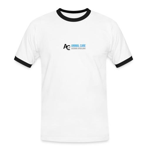 Sædding_Dyreklinik_ by Lattapon - Herre kontrast-T-shirt