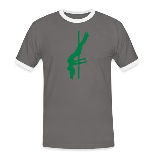 Pole Dance - Maglietta Contrast da uomo