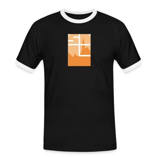 Logo-VZW-Sint-Lodewijk-jpg - Mannen contrastshirt