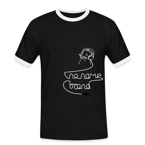 nonamebrand headphones - Männer Kontrast-T-Shirt