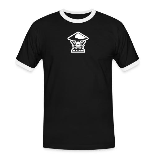 zwergrebell1cinversv10 - Männer Kontrast-T-Shirt