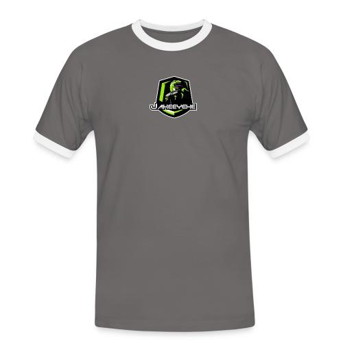 JakeeYeXe Badge - Men's Ringer Shirt