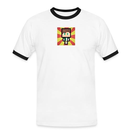 m crafter - Herre kontrast-T-shirt