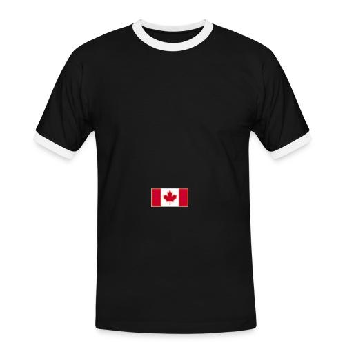 4 sport flag canada - Men's Ringer Shirt