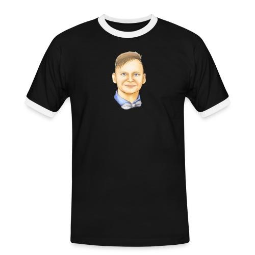 Pstaffan Webbsemla - Kontrast-T-shirt herr
