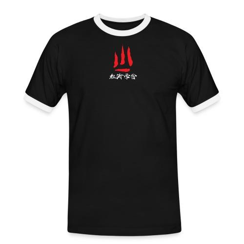 stort logo png - Herre kontrast-T-shirt