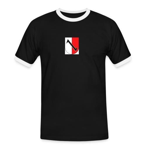Halberstadt - Männer Kontrast-T-Shirt