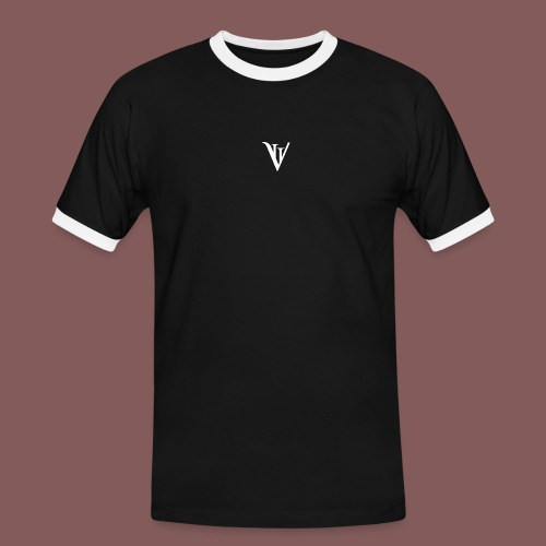 VII blanc - T-shirt contrasté Homme