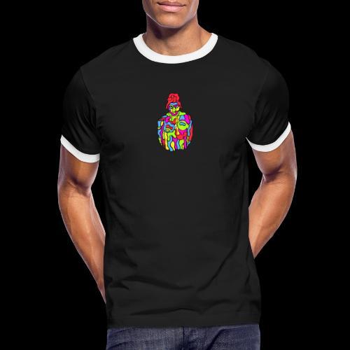 LyngeWear StreetX - Herre kontrast-T-shirt