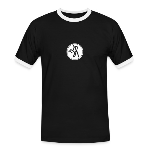 Salsa Libre Icon - Männer Kontrast-T-Shirt