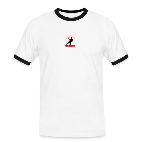 haba logo - Männer Kontrast-T-Shirt