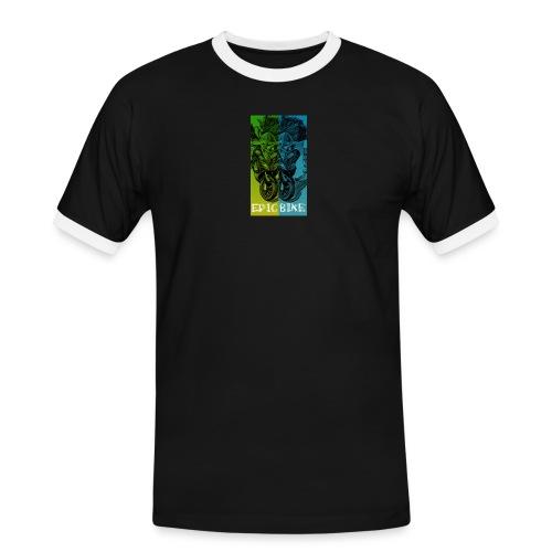 Double Scoot - T-shirt contrasté Homme