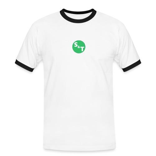 ST Main Logo - Men's Ringer Shirt