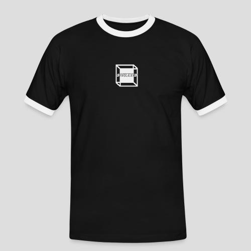Squared Apparel White Logo - Men's Ringer Shirt