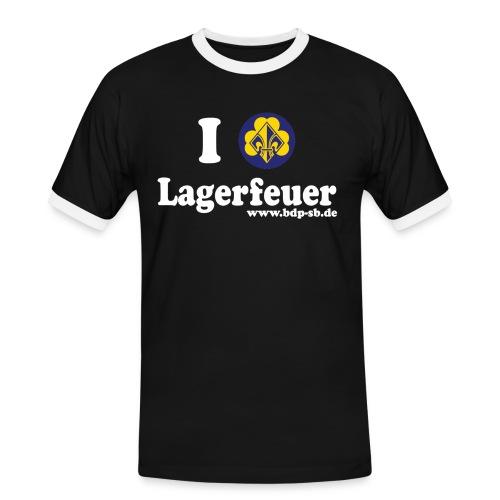 ilvefeuer - Männer Kontrast-T-Shirt
