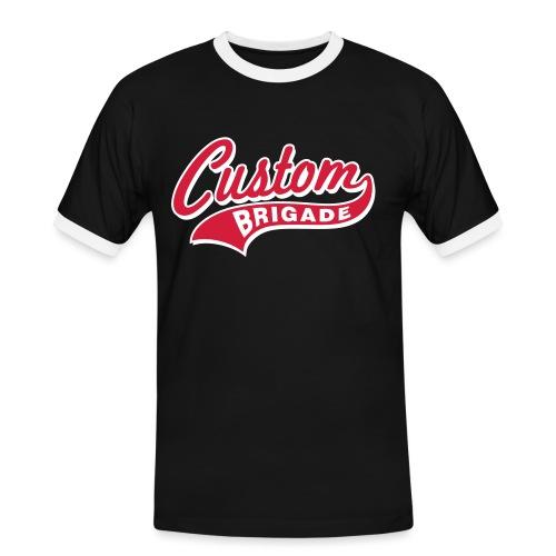 college3 - T-shirt contrasté Homme