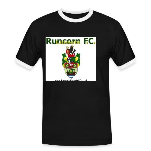 runcorn linnets logocrestwebsite120dpi - Men's Ringer Shirt