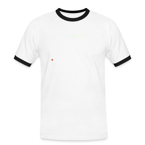 DIREKTHIER Logo - Männer Kontrast-T-Shirt