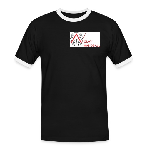 Nolay Handball png - Men's Ringer Shirt