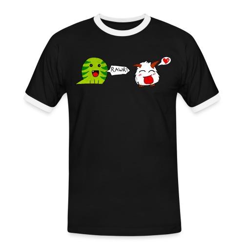 porofinis png - T-shirt contrasté Homme